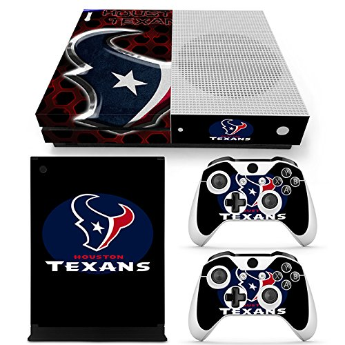 GoldenDeal Xbox One S Console and Wireless Controller Skin Set - Football NFL - XboxOne S Vinyl