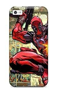 Cute High Quality Iphone 5c Deadpool Shooting Comics Anime Comics Case