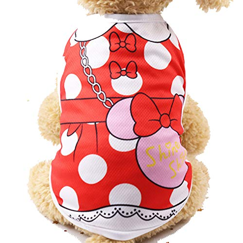 MZjJPN Dog Clothes Summer Pet Shirts for Dogs
