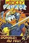 Mickey parade, n°149 : donald au feu ! par Cochet