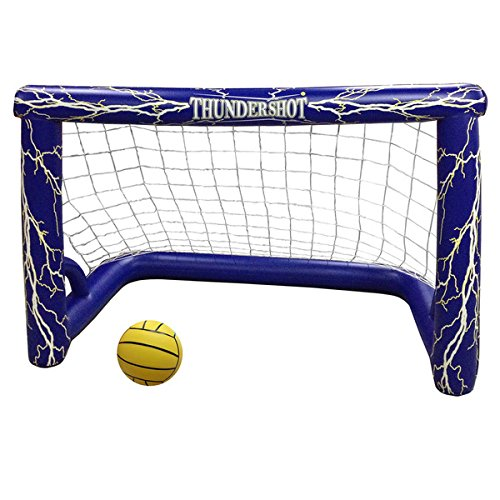 Blue Wave Thunder-shot Water Polo Pool Game, Blue, White, Yellow - Water Polo Goal
