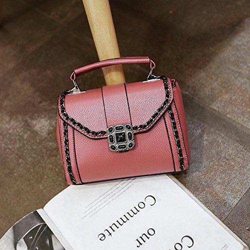 Aoligei Version sud-coréenne du petit côté sac sac à main fashion unique épaule oblique cross pack B