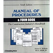 Manual of Procedures and Form Book: For the Construction Industry