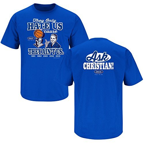 Nalie Sports Duke Basketball Fans. Hate Us Cause They Ain't Us. T-Shirt (Sm-5X) - Basketball Unc Duke