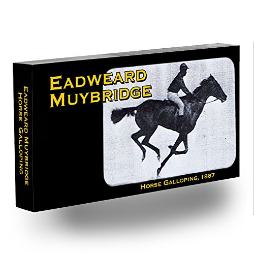 Eadweard Galloping Muybridge Horse (Fliptomania Muybridge Horse Flipbook)