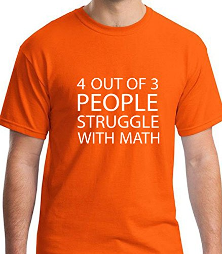 4-Out-of-3-People-Struggle-with-Math-Funny-Humorous-Mens-Graphic-Short-Sleeve-T-Shirt-by-JA-Design