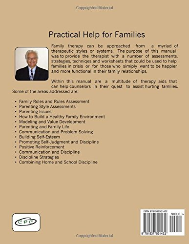 Amazon.com: Family Therapy Manual: Promoting Healthy Family Life ...