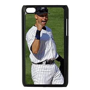 iPod Touch 4 Case Black New York Yankees IPW Plastic DIY Phone Case