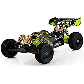 Team Energy T8X 1/8 Scale Brushless Powered Ready to Run Racing Buggy with Dimension GT3X AFHDS 2.4ghz 3 Channel Radio System RC Remote Control Radio Car