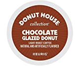 Donut House Collection Chocolate Glazed Donut, Single Serve Coffee K-Cup Pod, Flavored Coffee, 72