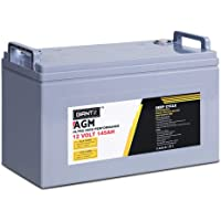 GIANTZ 12V 145Ah Deep Cycle AGM Battery 1600 Cycles