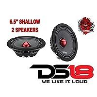 (2) DS18 PRO-NEO6SLIM 6.5 Shallow Neodymium Midrange Loudspeaker Slim 800 Watt