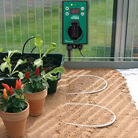 Cable calefactor para cultivo de suelo: Amazon.es: Jardín