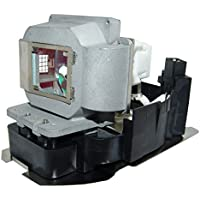 AuraBeam Economy Mitsubishi XD500U Projector Replacement Lamp with Housing