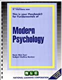 Modern Psychology, Jack Rudman, 0837374502