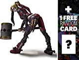 Harley Quinn: Injustice - Gods Among Us x Tamashii Nations S.H. Figuarts Action Figure Series + 1 FREE Official DC Trading Card Bundle