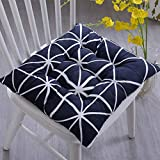 MEIZOKEN 1PC Plaid Chair Cushion Mat Pad Meditation Cushions Mat Pad Seat Decoration for Home Office Sofa 45cm x 45cm