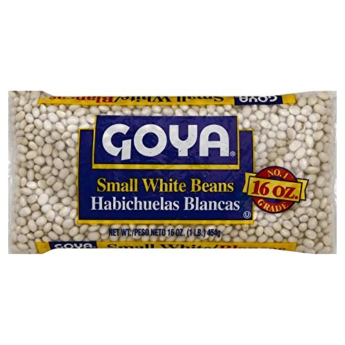 Goya Small White Beans Habichuelas Blancas 16 Oz. Pack Of 3. by Goya