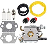 Dxent 503283110 C1Q-EL24 Carburetor Kit for Husky Husqvarna 123C 123L 123LD 223L 223R 322C 322L 322R 323C 323L 325C 325CX 325L 325LX 326C 326L 326LX String Trimmer Jonsered GC2125 GT2125 Carb