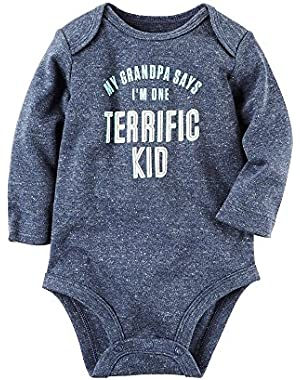Carter's Baby Boys' Terrific Kid Bodysuit