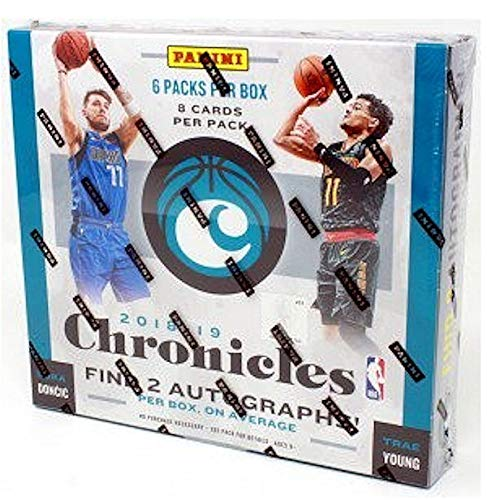 2018/19 Panini Chronicles NBA Basketball HOBBY box (6 pks/bx)