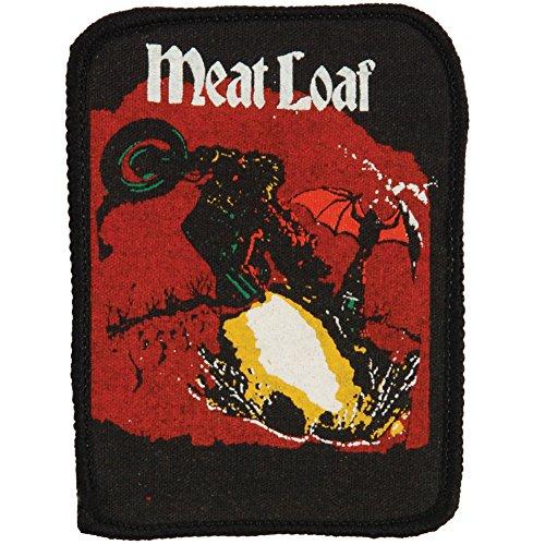 Meatloaf Men's Meat Loaf Screen Printed Patch Black