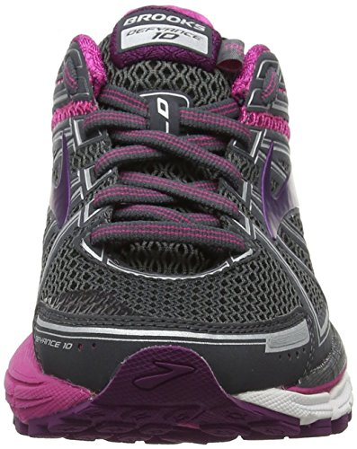 pink plum 10 Defyance Brooks Running Scarpe 091 Da Donna Multicolore ebony 81RqT
