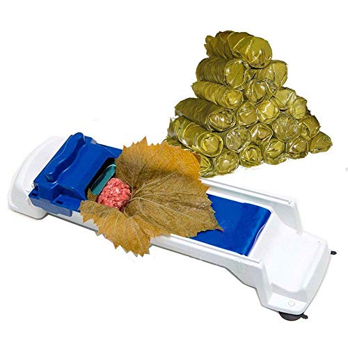 Liecho Upgarded Dolma Sarma Sushi Rolling Machine Plastic Kitchen Grape/Cabbage Rolling Leaf Roll Maker Tool