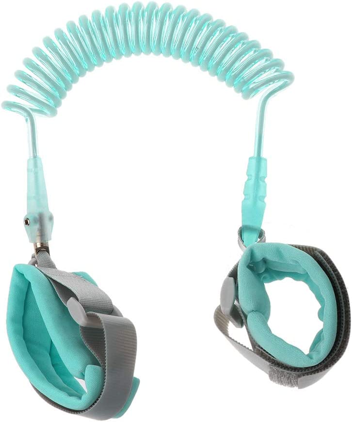 Bracelet Anti-Perte Confortable pour B/éb/é Enfant Laisse Poignet De 360 /° Rotation Harnais De S/écurit/é Yanhonin Anti-Perdu Enfant Barcelet
