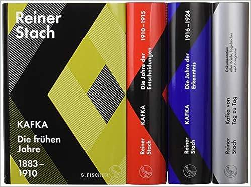 Reiner Stach: Kafka-Biographie in drei Bänden