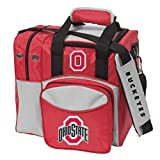 Bowlerstore Products Ohio State University Single Bowling Bag, Multi-color For Sale