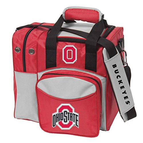 Bowlerstore Products Ohio State University Single Bowling Bag, Multi-color