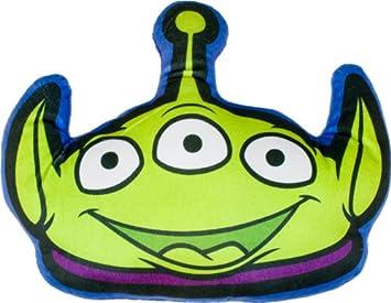 Amazon.com: Disney Toy Story Alien con forma de cojín: Home ...
