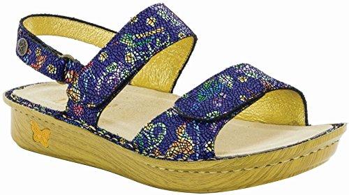 Alegria Women's Verona Birdland Sandal (VER-158) Size: Euro 42 \ US 11.5-12