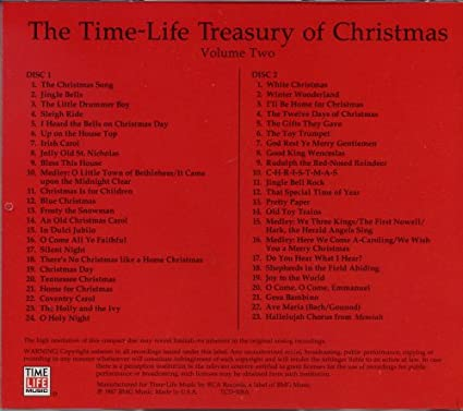 The Time-Life Treasury of Christmas Vol.2 by : Amazon.co.uk: Music
