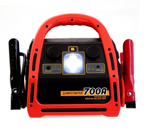 Cheapest Price! Haegan 700XL 1400 Peak Amp Jump Starter