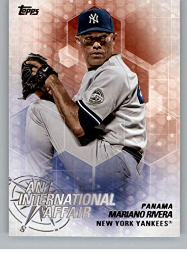 2018 Topps Update and Highlights Baseball Series An International Affair #IA-31 Mariano Rivera New York Yankees Official MLB Trading Card Topps MLB Baseball