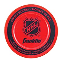 Franklin Sports Street Hockey Puck - NHL - Colors May Vary