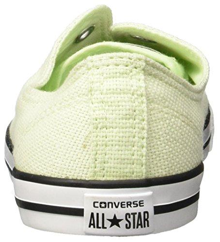 Converse All Star Chaussures Femme Baskets En Toile Semelle Fine Dainty (Madison Pistachio - Pistache)