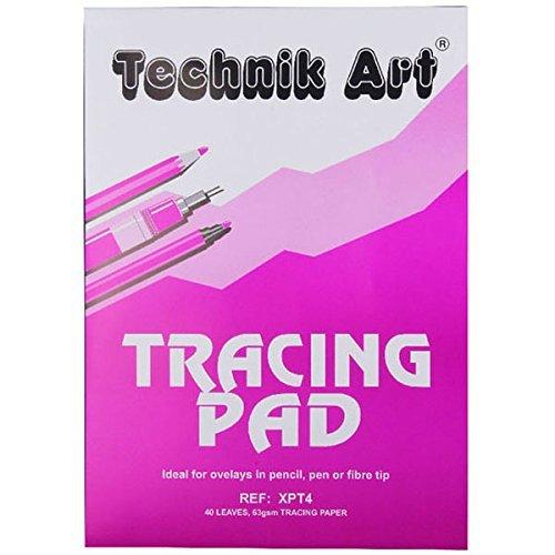 Technik Art A3 Drawing Pad, 90 gsm, 40 leaves,