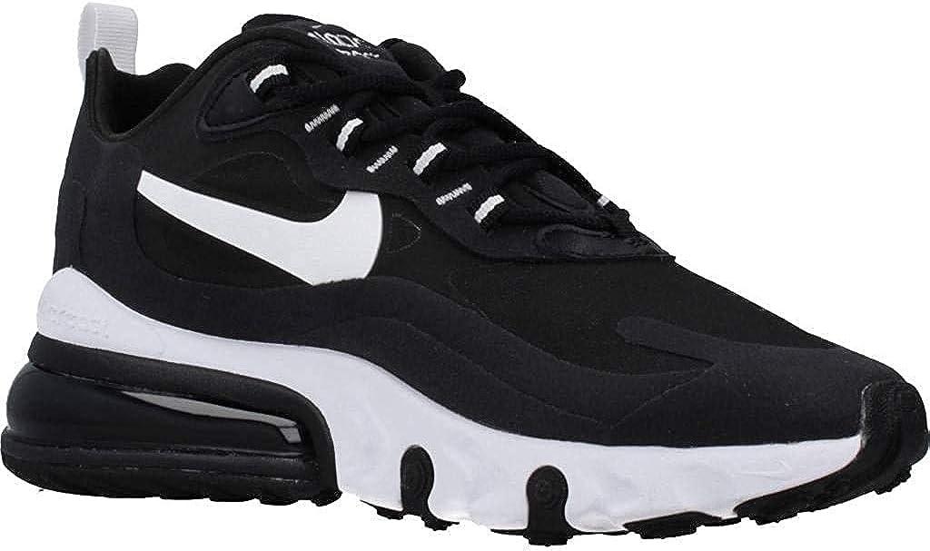 Amazon Com Nike Women S W Air Max 270 React Running Shoe Black