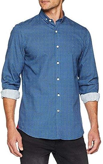El Ganso 1050s180067 Camisa Casual, Multicolor (Azulón ...