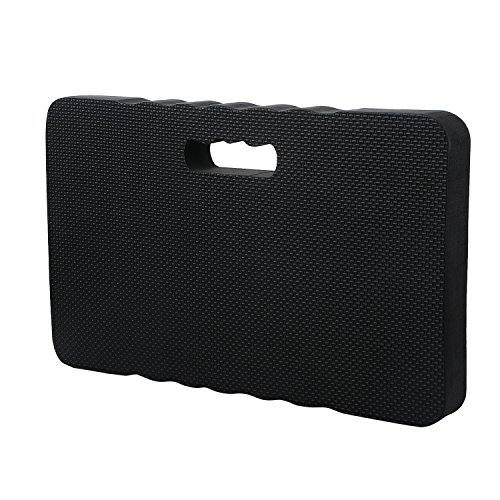Pannow Thick Kneeling Pad - EXTRA LARGE 18'' x 11'' Garden Kneeler for Gardening, Bath Kneeler for Baby Bath Tub, Kneeling Mat for Gym Yoga, THICKEST 1.8'', Black by Pannow