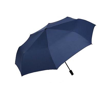 XnZLXS-paraguas viajes Sombrilla Plegable Simple para Hombre Sombrilla para Turismo sombrilla Sombrillas Ligeras compactas