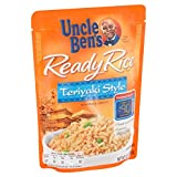 Uncle Ben's Ready Rice, Teriyaki, 8.8-Ounce Pouches (Pack of 12)