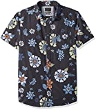 Quiksilver Men's Sunset Floral Short Sleeve, Tarmac Sunset Floral SS, M
