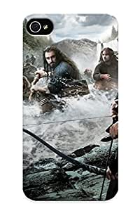Crazinesswith Top Quality Rugged The Hobbit The Desolation Of Smaug Case Cover Deisgn For Iphone 4/4s For Lovers