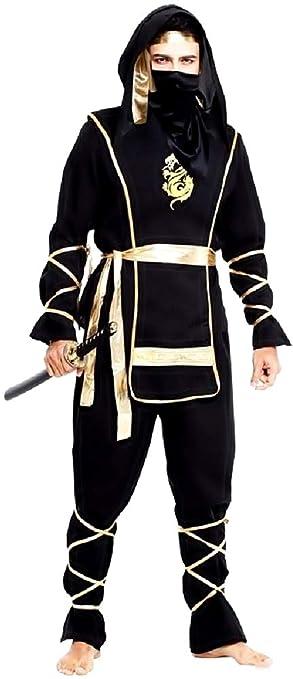 KIRALOVE Traje de Ninja - Guerrero - Disfraces - Halloween ...