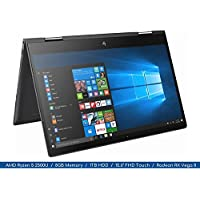 2018 HP Envy x360 15.6 FHD MultiTouch Display Micro-edge 2-in-1 Flagship Notebook 4-Core AMD Ryzen 5 2500U Up to 3.6Ghz, 8GB DDR4, 1TB HDD, Webcam, Backlit Keyboard, Radeon Vega, Windows 10