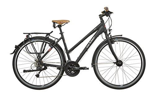 Ortler Meran - Bicicletas trekking Mujer - negro Tamaño del cuadro ...